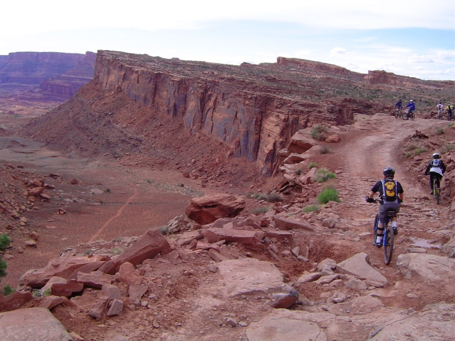 Amasa Back trail in Moab